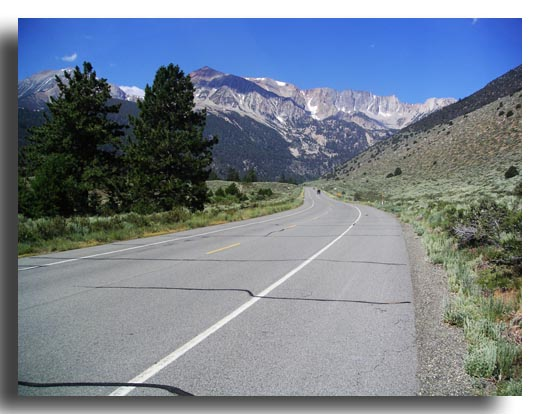 Highway 120 and the High Sierra