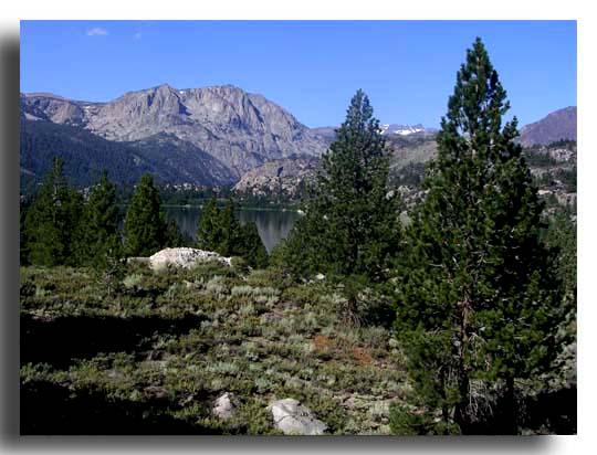 June Lake and the High Sierra