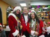 Santa's little helpers at Popeyes