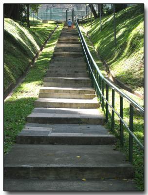 Long climb