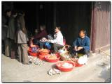 Dried fish sellers, Zho Zhuang Water Town