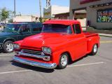beautiful red custom  truck what year is this ? is this also a 1957 ?