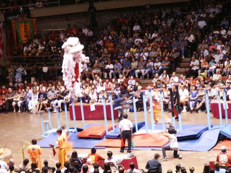 Lion Dance contest