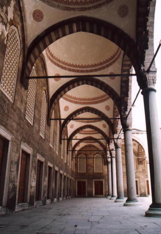 Blue Mosque Archway