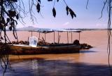Our Boat across Lake Tana