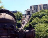 Bessemer Converter With The Incline In Background