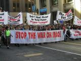 Protesting The Iraq War 2/Carlyle Group SF - March 20 2003