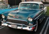 1955 Chevrolet Bel-Air, two tone