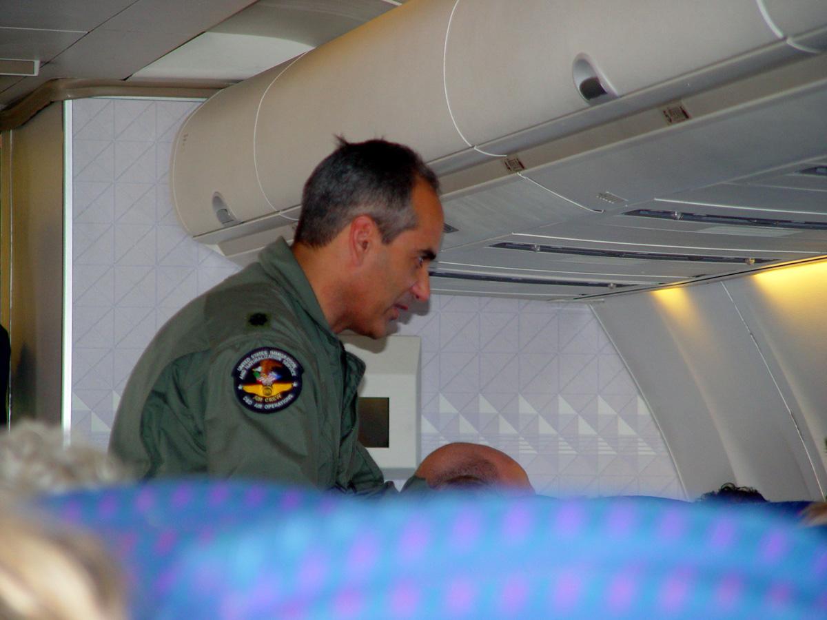 Treatment in Flight
