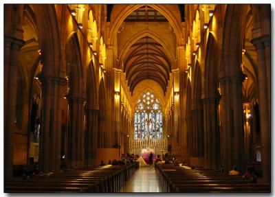 Wedding at St. Marys Cathedral, Sydney