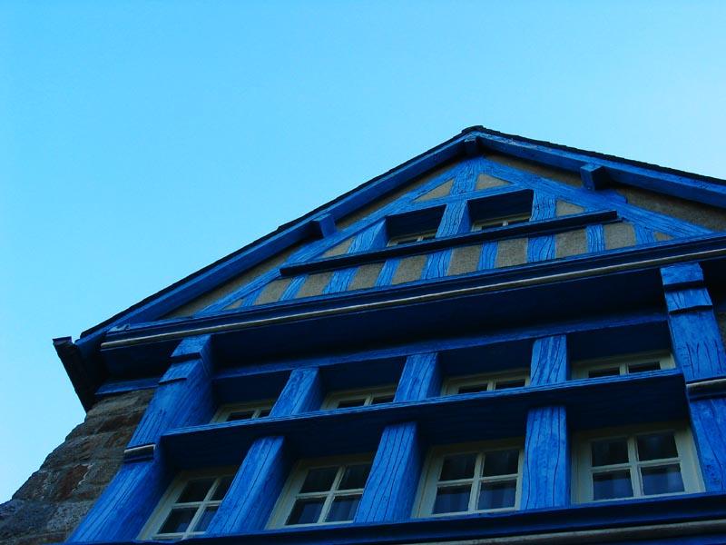 Cest une maison bleue
