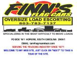 FINN'S FLAG CARS NATIONWIDE OVERSIZE LOAD ESCORTING