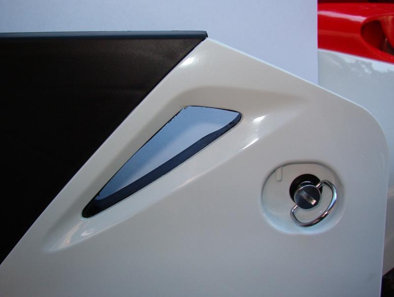 Airbox door vent modified