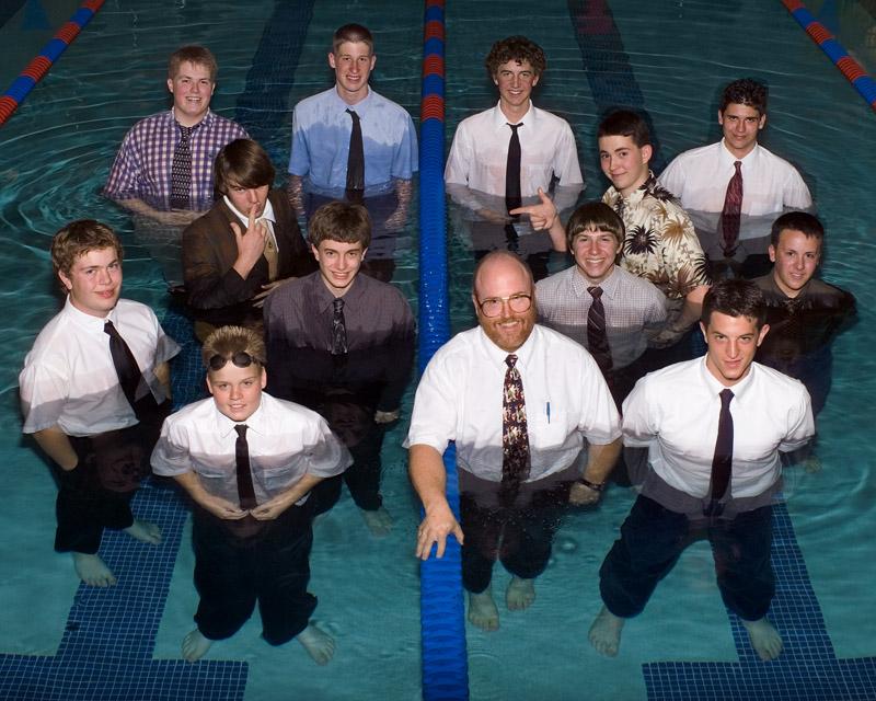 The Swim Team by Albert Yanowich Jr.
