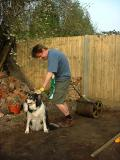 Archie tries unsuccessfully to help...
