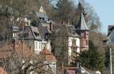 Houses on the Border of the Neckar River