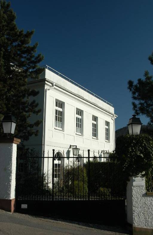 Beautiful Building on the Philosophers Way (Philosophenweg)