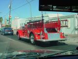 big red firetruck
