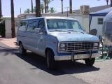 curtis's new 1991 van