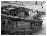 Fontainebleau - escalier principal