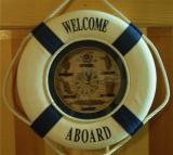 Navy Room Welcome