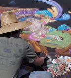 I Madonnari Italian Street Painting Festival 2004