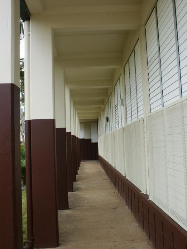 Central Middle School corridor