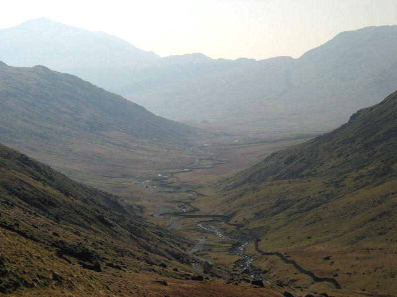 Wrynose pass and Harter Fell