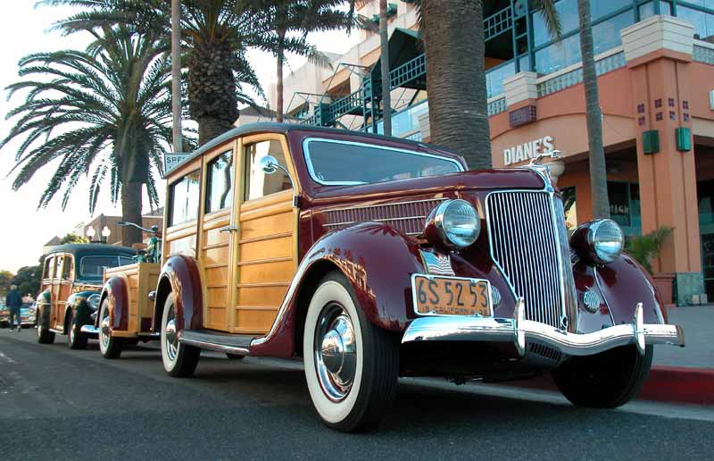 1936 Ford Woodie
