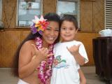 Aunty & Kainoa @ Paradise Cove