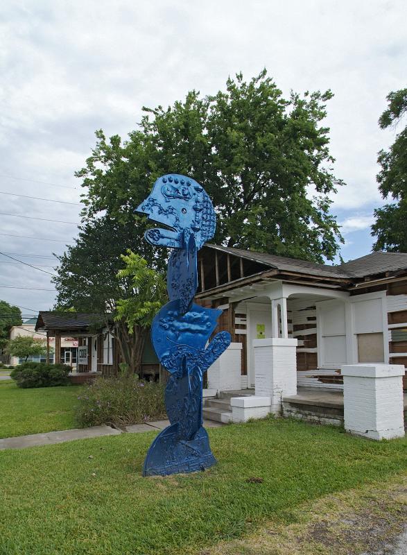 Art League Inversion Blue Man 01