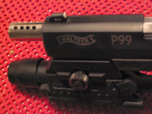 P-99 Stainless Steel ported Barrel