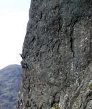 big toprock climb glencoe 2ndpitch