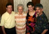 Burt, Marilyn, Amy & Dan