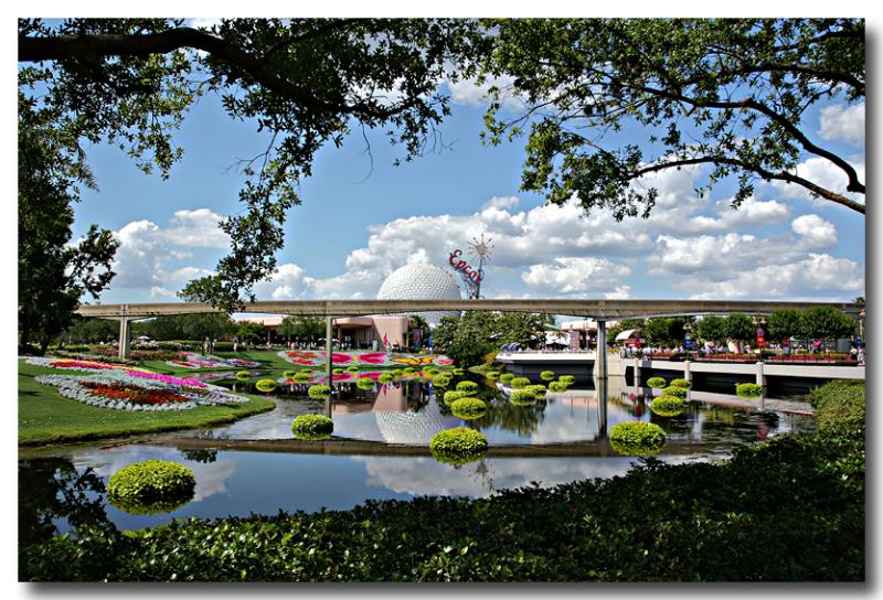 spring day at Epcot