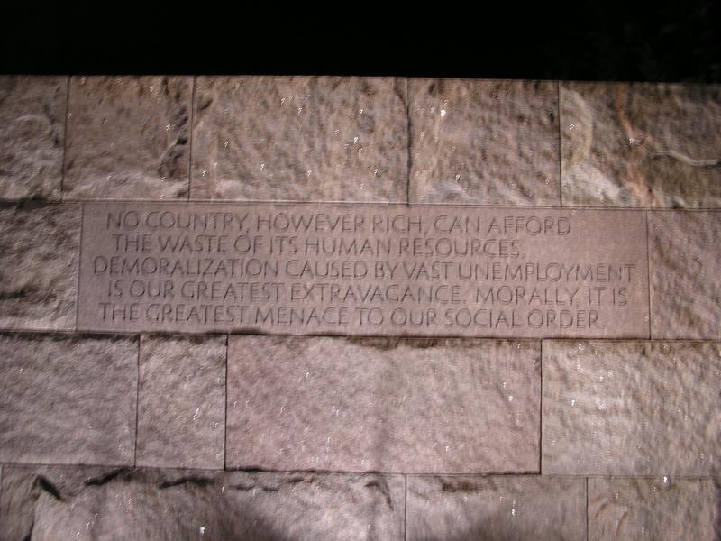 DC - FDR Memorial