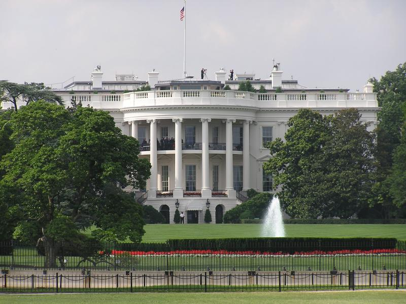 DC - White House (check out the snipers on the roof)