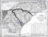 East Coast Map 1824 Boyett Migrations