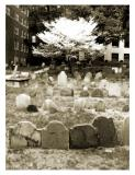 Granary Cemetery in Spring
