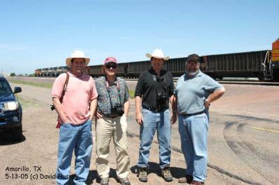 Carter, Tim C, Brian, and DH. Amarillo Tx.