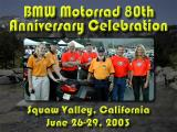 BMW 80th Anniversary Rally, Squaw Valley CA