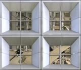 La grande Arche Paris (four windows)