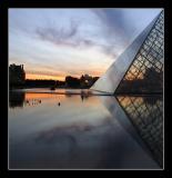 Sunset & Geometry ....