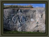 Bill DeGathe's Granite Carving