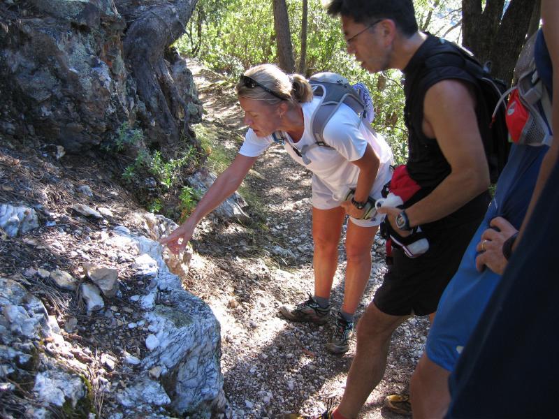 Eva shows us crystals