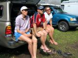 Barb Ringstad, Jason & Colleen Moyer hanging out