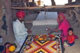 Weaving a Dhurrie