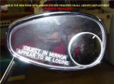 NEW MIRROR STICKER ISSUED FOR LARGER DISPLACEMENT YAMAHA VIRAGO'S