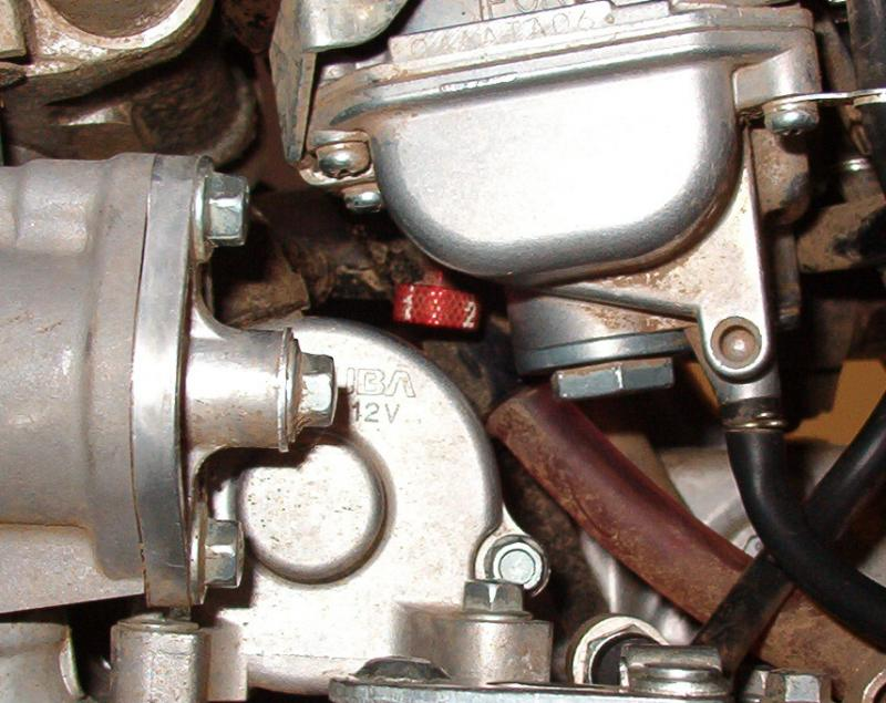 CRF450X and Extended Fuel Screw
