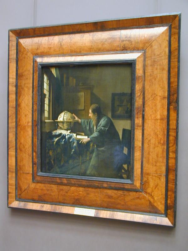 Jan Vermeers The Astronomer, Louvre (4/30)